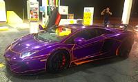paarse auto 2